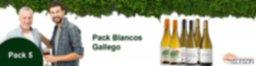 Pack 5 - Blancos Gallego - 10% DESCUENTO